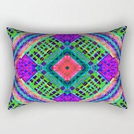 Emoji Glitch-O-Graph Rectangular Pillow