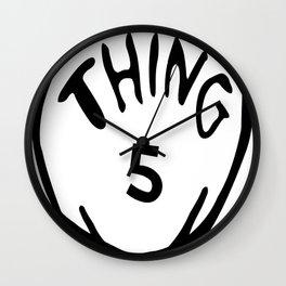 thing 5 copy Wall Clock