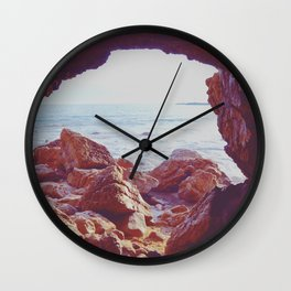 Waiting by the Sea Wall Clock