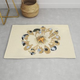 Finding Warmth Together Rug
