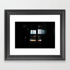 2008 - Heading Towards The Office Framed Art Print