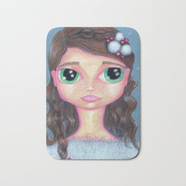 Winter Girl Bath Mat