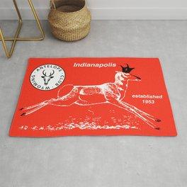 Antelope Club Items Rug