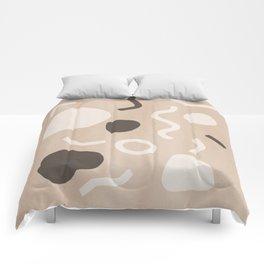Abstract Confetti Comforters
