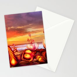 Late evening Stationery Cards