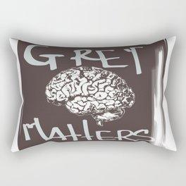 Grey Matters Rectangular Pillow