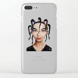 Celebrity Sunday ~ Björk Clear iPhone Case
