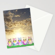 owl-192 Stationery Cards