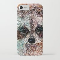 kit king iPhone & iPod Cases featuring Kit by Col Mitchell Paper Artist