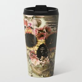 Garden Skull Light Metal Travel Mug