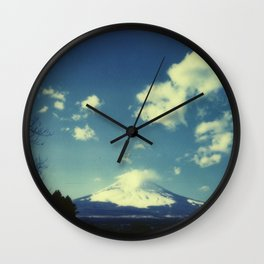 Mount Fuji Wall Clock