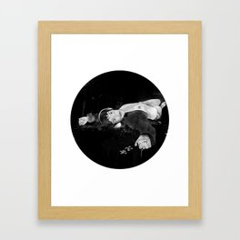 Sleepills Framed Art Print