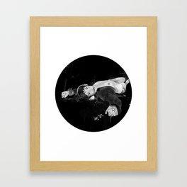 Sleepills Framed Art Print
