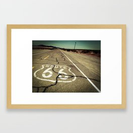 Route 66 #1 Framed Art Print