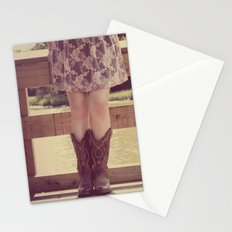 Thank God I Was Born a Country Girl Stationery Cards