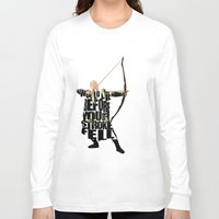 legolas Long Sleeve T-shirts featuring Legolas - Orlando Bloom by A Deniz Akerman