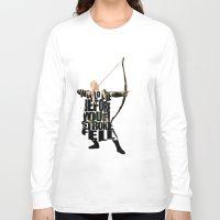 legolas Long Sleeve T-shirts featuring Legolas - Orlando Bloom by Ayse Deniz
