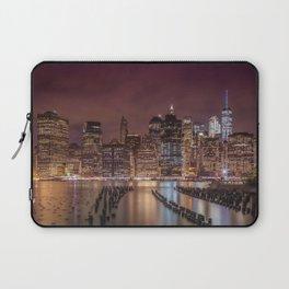 NEW YORK CITY Nightly Impressions | Panoramic Laptop Sleeve