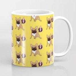 Sweet Golden Fawn French Bulldog puppy wants an ice cream Coffee Mug