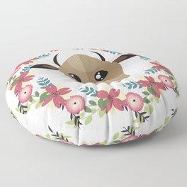 Cow&Wreath Floor Pillow