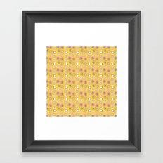 Bright Circles Robayre Framed Art Print