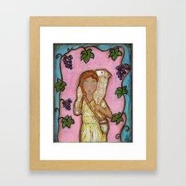 True Vine Good Shepherd Framed Art Print