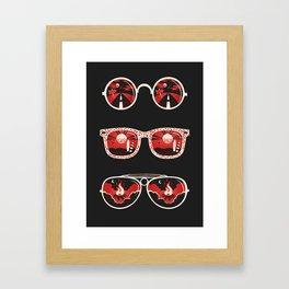 Summer hypnosis Framed Art Print