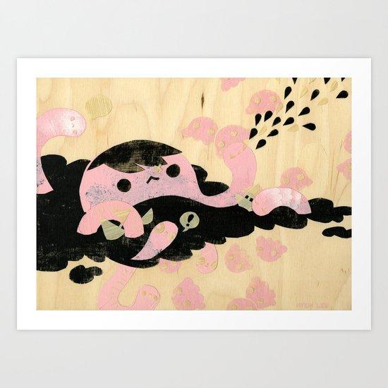 Attack! Art Print