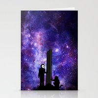 2001 Stationery Cards featuring 2001: A Space Odyssey  by Joshua S