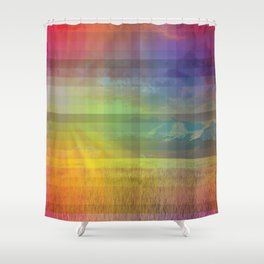 Life in Full Colour Shower Curtain