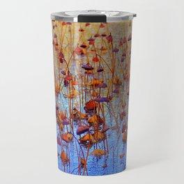 Dead Lotus Flower Travel Mug