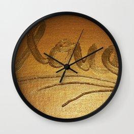 Live,laugh,love Wall Clock