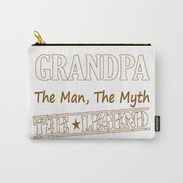 Grandpa The Legend Carry-All Pouch