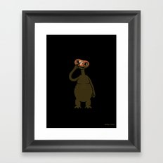 ET Pick Nose Framed Art Print