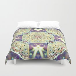 On The Wings Of Love Duvet Cover