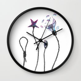 Choose the star Wall Clock
