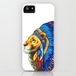 The Lion Chief iPhone Case