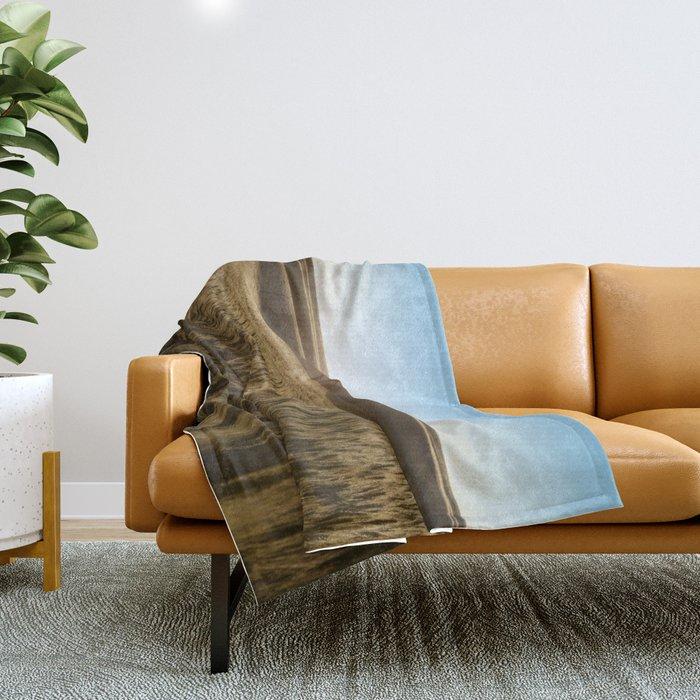 Palouse Sunset Photography Print Throw Blanket