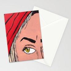 Red Secret Stationery Cards