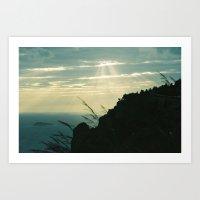 Amalfi Weeds Art Print