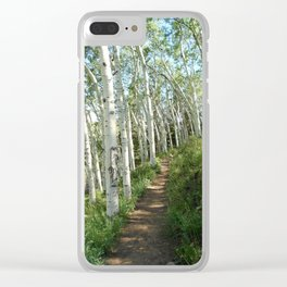Jud Weibe Trail Telluride Clear iPhone Case