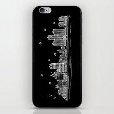Detroit, Michigan City Skyline iPhone & iPod Skin