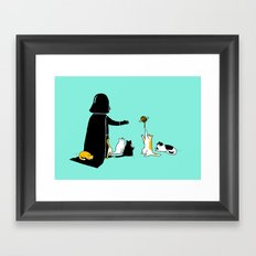 I can haz force Framed Art Print
