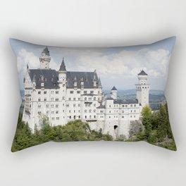 Neuschwanstein Castle Rectangular Pillow
