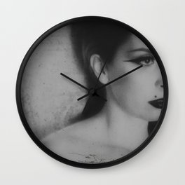 """""""something wicked"""" Wall Clock"""