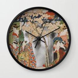 House Of Pleasure Wall Clock