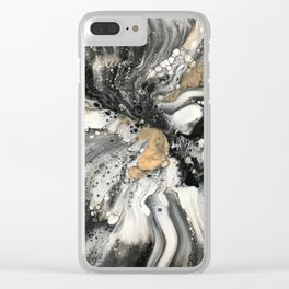 Golden Nuggets Clear iPhone Case