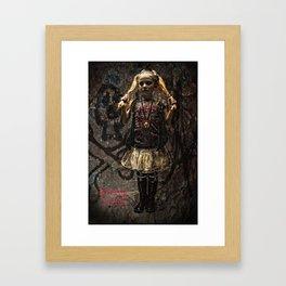 Living Dolls Framed Art Print