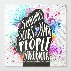 The Lovely Reckless - Scars Canvas Print