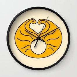Hedwig Wig! Wall Clock